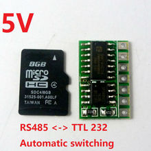 mini 5V RS485 to TTL Converter Module UART to RS485 Converter SP485EE for Smart home MODBUS RTU Control image
