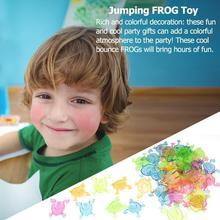12/50pcs Children Classic Jumping Frog Funny Animal Plastic Classic Toys