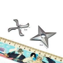 Naruto Shuriken Japanese Metal Throwing Ninja Star 10 Pcs/Set