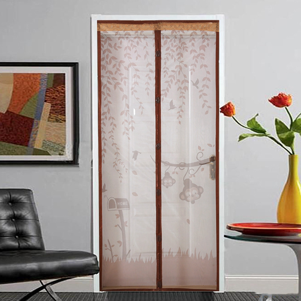 90 x 210CM Anti Mosquito Magnetic Curtain Automatic Closing Door Screen Summer Style Mesh Net