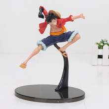 Anime One Piece Figure Battle Jinbe Marco Marine Smoker Doflamingo Monkey D Luffy PVC Action Figure Collection Model Toys Gifts