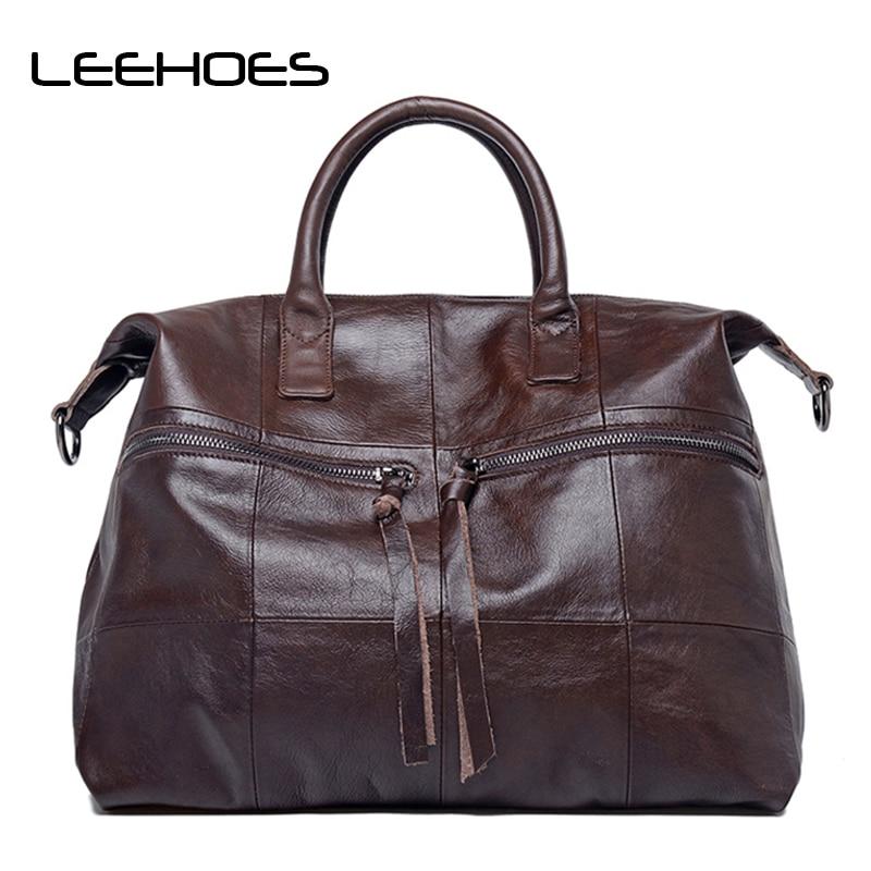Women 100% Genuine Leather Handbags Soft Natural Skin Daily Bag High-capacity Top Grade women Shoulder bags High Quality Handbag все цены
