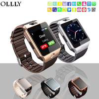 OLLLY DZ09 Smartwatch Bluetooth Smart Watch Wristwatch With Pedometer Anti Lost Camera For Iphone Samsung Huawei