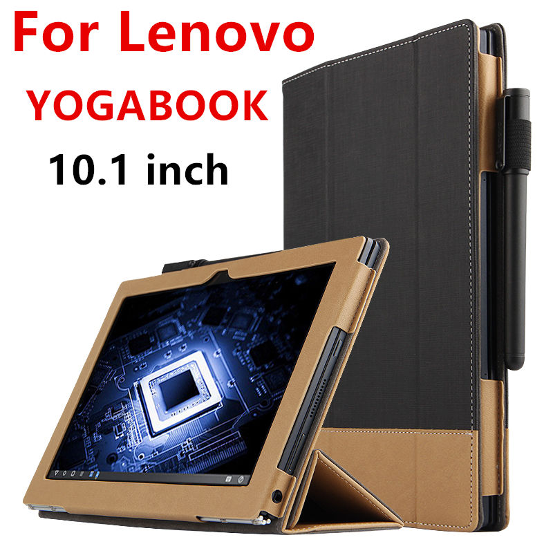 Book Cover Vintage Yoga : Case for lenovo yoga book protective smart cover faux