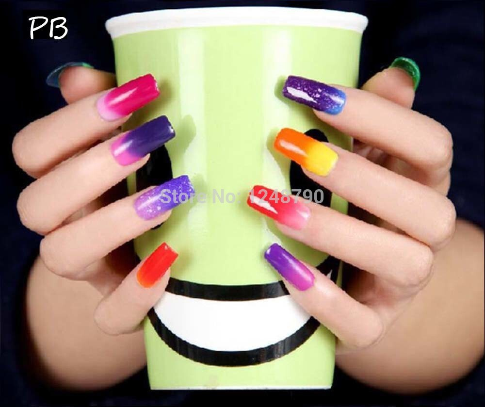 Glitter Gel Nail Polish Ideas | Hession Hairdressing