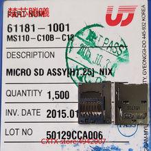 CHUXINTENGXI UJU MS110-C10B-C12 Für Samsung 9300 TF SD Kartenleser Anschluss Buchse Halter Slot NEUE Original SIM TF Kartenleser