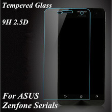 Phone cover Front Premium Tempered Protective Glass Screen Protector Film For ASUS Zenfone 2 4 5