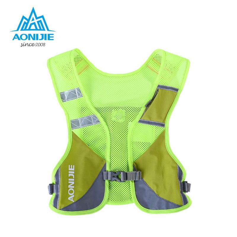 AONIJIE Marathon Reflective Vest Bag Sport Running Cycling Bag for Women Men Safety Gear