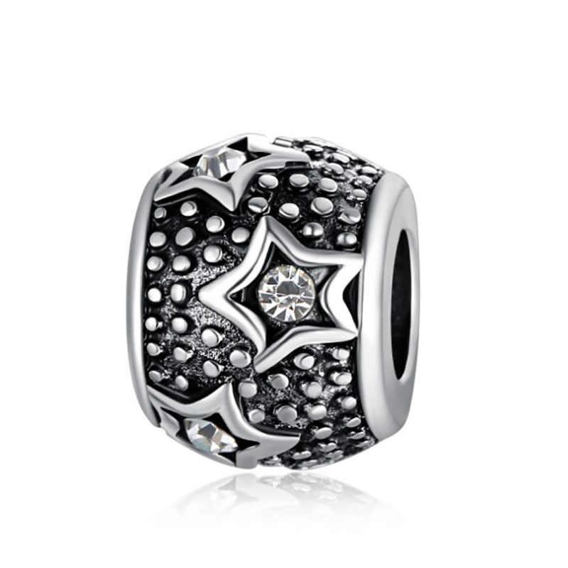 DIY charms plata de ley 925 original bracelet jewelry valentine's day mary poppins bijoux choker riverdale beads jewellery