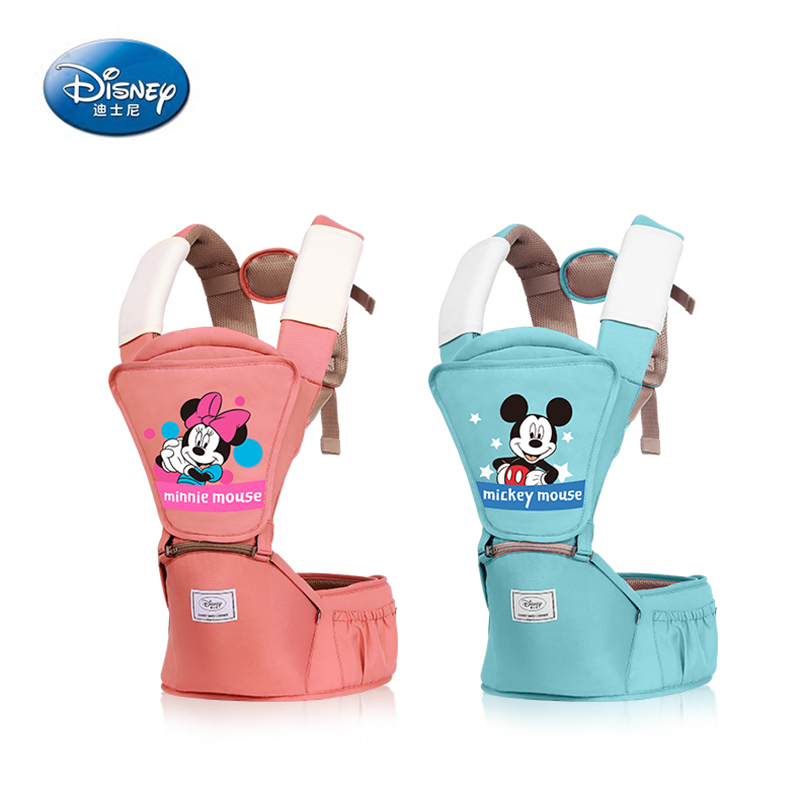 Disney 0-36 Months Breathable Front Facing Baby Carrier 4 in 1 Infant Comfortable Sling Backpack Pouch Wrap Baby CarriersDisney 0-36 Months Breathable Front Facing Baby Carrier 4 in 1 Infant Comfortable Sling Backpack Pouch Wrap Baby Carriers