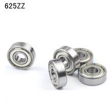 10Pcs 625-ZZ C3 625 2Z C3 Diepgroefkogellager Miniatuur Lagers 5x16x5mm