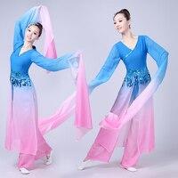 water sleeves traditional chinese costume hanfu dress stage performance clothing folk dress hanfu women stage costume dance wear
