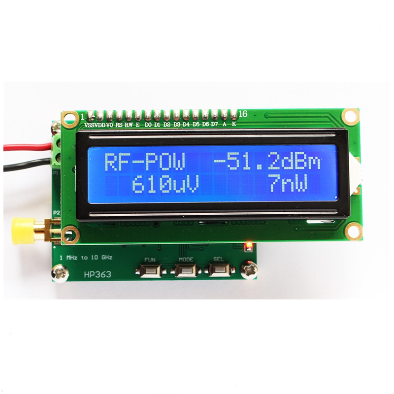 Sofware RF Attenuation Value HoHome 8GHz 1-8000Mhz OLED RF Power Meter 55~-5 dBm
