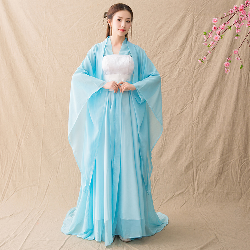 2019 new chinese national ancient costume hanfu girls traditional women clothes dress hanfu pattern folk dance tang dynasty
