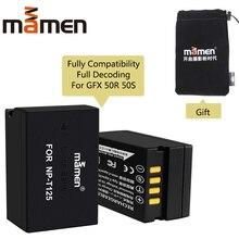 Mamen Full Decoding 1300mAh NP-T125 NP T125 NPT125 Rechargeable Digital Camera Battery Pack for Fujifilm Fuji GFX 50R 50S