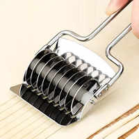 Spaetzle Makers Shallot Cutter Non-slip Handle Manual Section 1PC Noodles Cut Knife Pressing Machine Stainless Steel