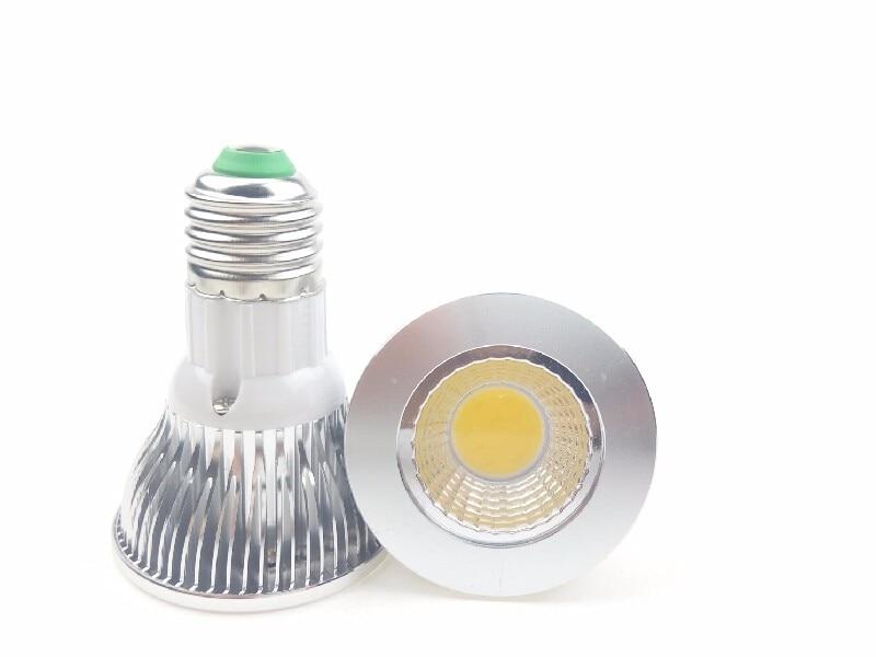 220 В 110 В вел E27 PAR20 Открытый Прожекторы Bombillas 5 Вт 3 Вт серебро В виде ракушки для современного дома Освещение светильник Подпушка Lampen <font><b>WW</b></font> CW CE РОШ