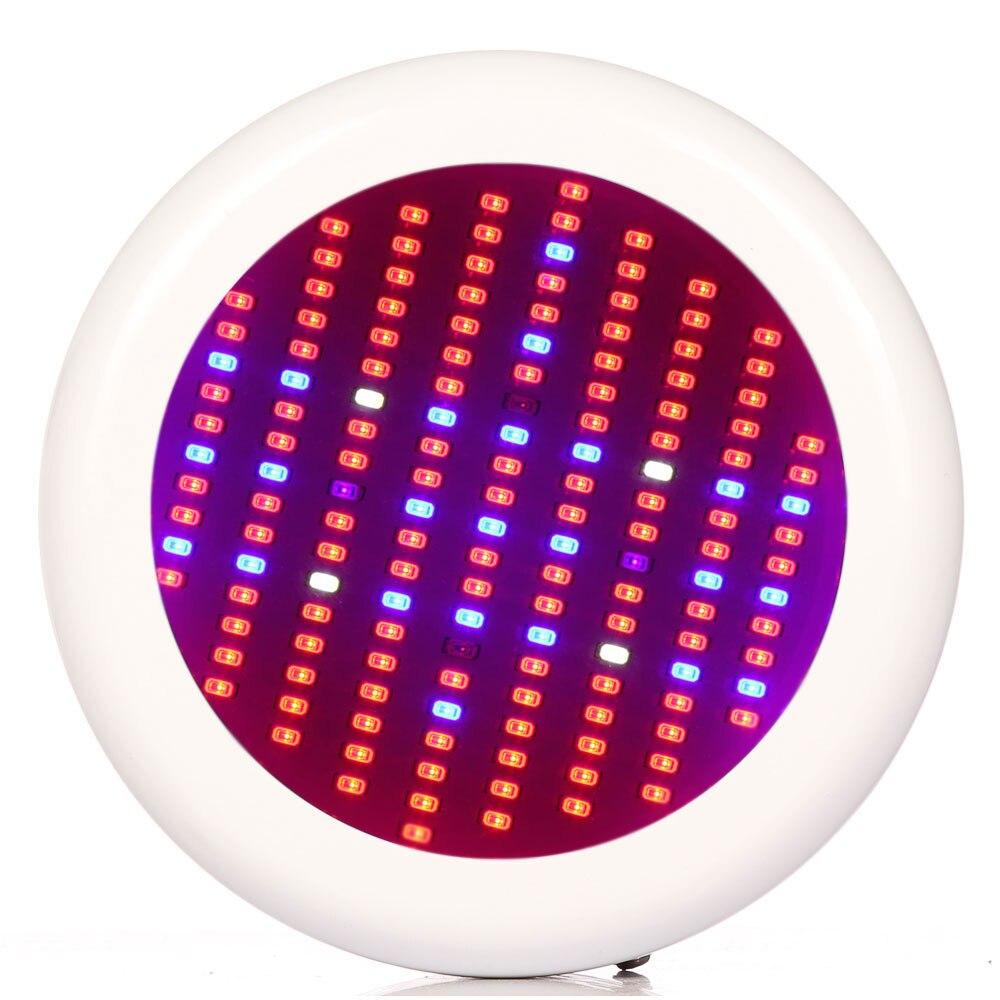 ФОТО 1pcs Full Spectrum LED Grow light UFO 150W LED Grow lamp Bulb for Flower Plant Hydroponics System AC85-265V grow box