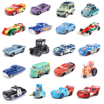The New Disney Pixar Cars 3 McQueen King of Cars Storm Ramirez 1:55 Metal Alloy Model Toys Cars 2 Christmas Gift Free Shipping image