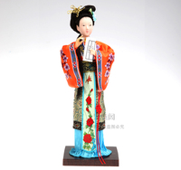 2016 Lovely Hand made 26cm Ancient Chinese Princess Figurines Chinese style home accessories ornaments dolls Featured crafts