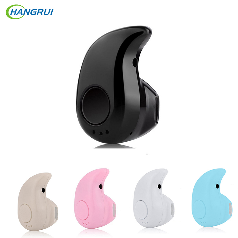 HANGRUI S530 Wireless Bluetooth Earphone Cordless Hands free Headset with Mic Stereo Auriculares For iphone 7 Xiaomi Smartphone boas wireless bluetooth earphone hands free earbud earpiece car charger usb headsets with mic 2 in 1 headset for iphone xiaomi