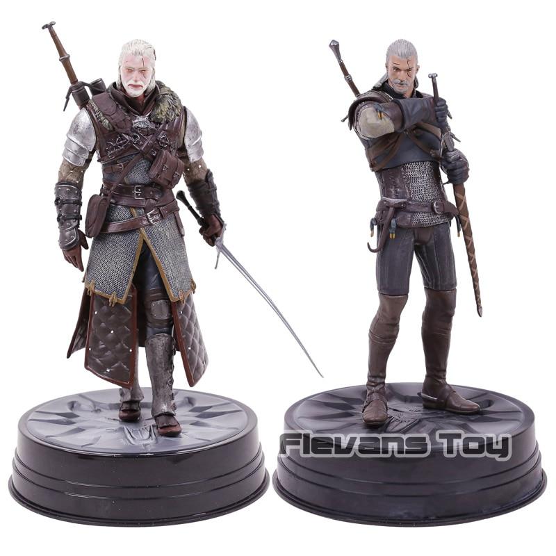 Dark Horse Deluxe The Witcher 3 chasse sauvage: figurine à collectionner Geralt & Grandmaster Ursine