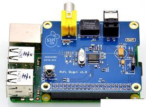Image 2 - Цифровая звуковая карта HIFI DiGi + I2S SPDIF, оптический волоконный RCA Raspberry Pi 3/2 B +