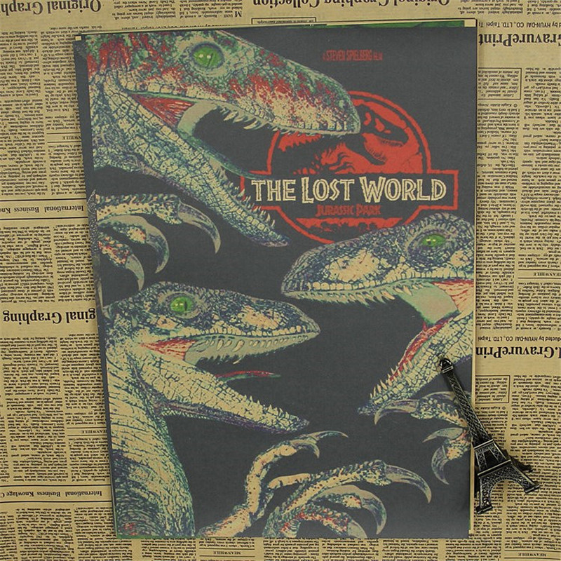 Buy Retro Kraft Vintage Paper Jurassic