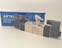 1 шт. 4v330c-10 AC220V 5way 3 позиции Двойной Электромагнитный Пневматический воздушный Клапан 3/8