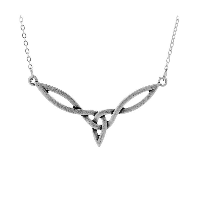 1pcs velika celtics navzkrižno obesek ogrlica irski celtics vozel art ogrlica edinstvena oblika talisman amulet obesek nakit  t