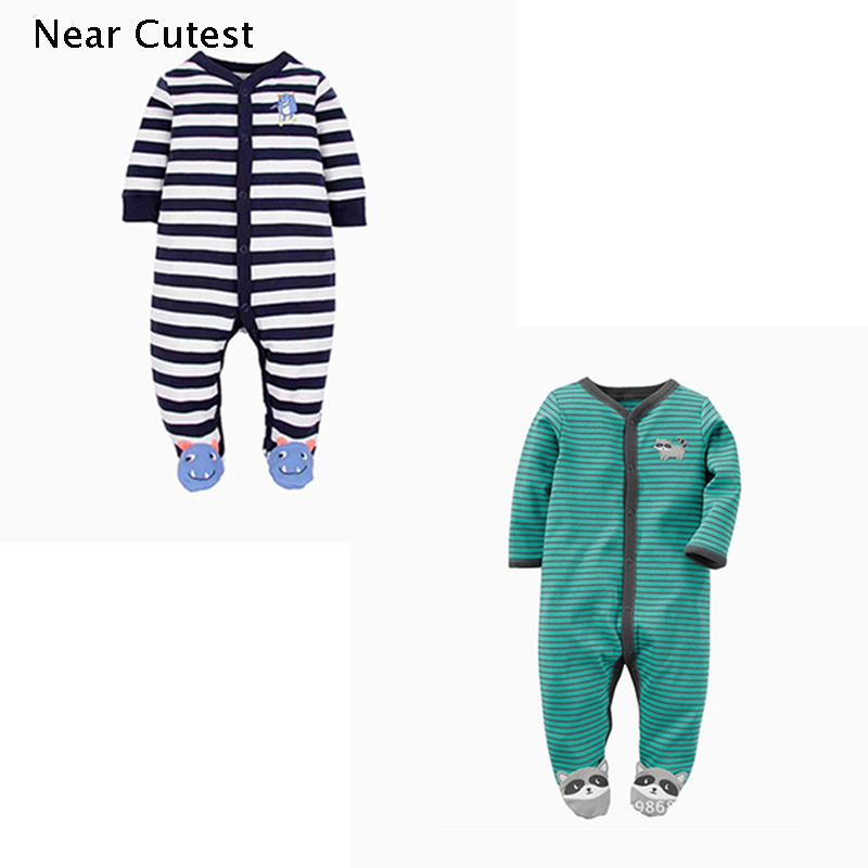2pcs/lot Winter Baby Romper Baby Boy Girl Clothes Long Sleeve Newborn Jumpsuits & Rompers Baby Product