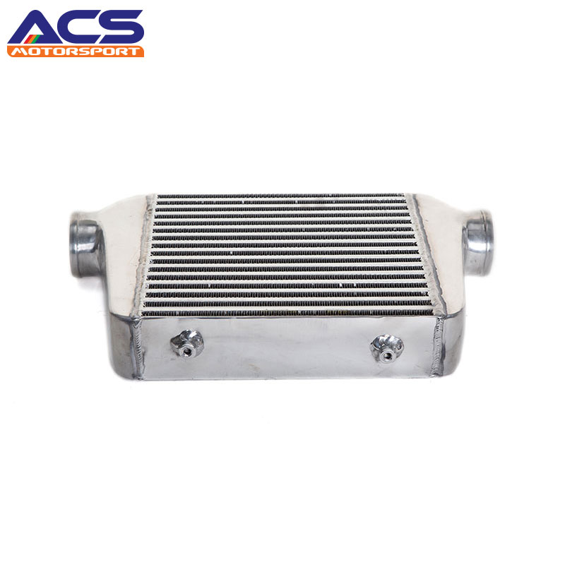 YIRUI-Universal Aluminum Frount Mount Air to Air Intercooler size 300x280x76 mm 2.5 inch Inlet/outlet 31x12x3 inch universal turbo fmic intercooler 3 inch piping kit toyota supra mkiii mk3 7mgte