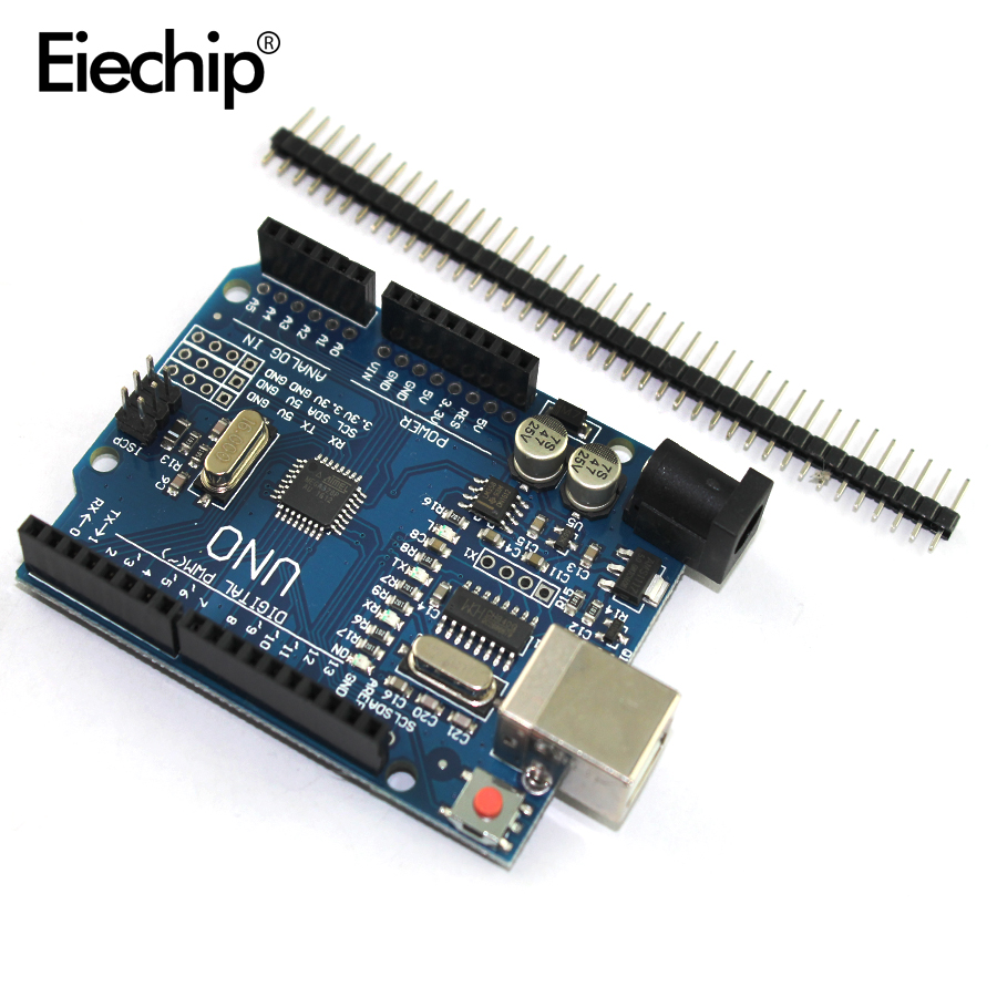 5pcs/lot One set Cool version UNO R3 (CH340G) MEGA328P for Arduino UNO R3 (NO USB CABLE)
