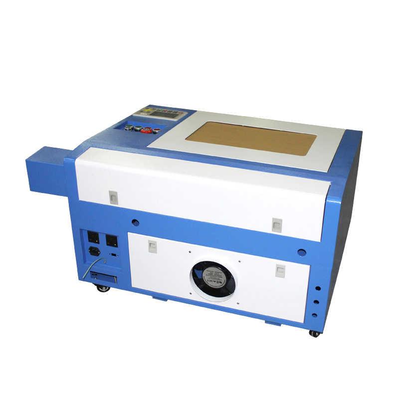 Cnc 3040 פרו 50 W לייזר חריטת מכונת עם ציר סיבובי