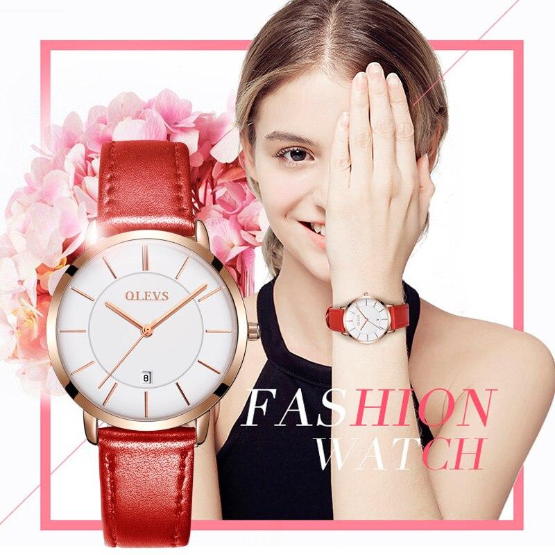 3c79abfc9d1 2017 Luxo Marca Relógios do Amante Par Casais À Prova D  Água Preto e  Branco Relógios pulseira de couro Genuíno Relógios de Pulso Relogio feminino  em Amante ...