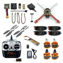 JMT 2.4G 8CH F450 F550 RC Racing Drone Unassemble DIY Quadcopter FPV Upgrade w/ Radiolink Mini PIX M8N GPS Altitude Hold Module