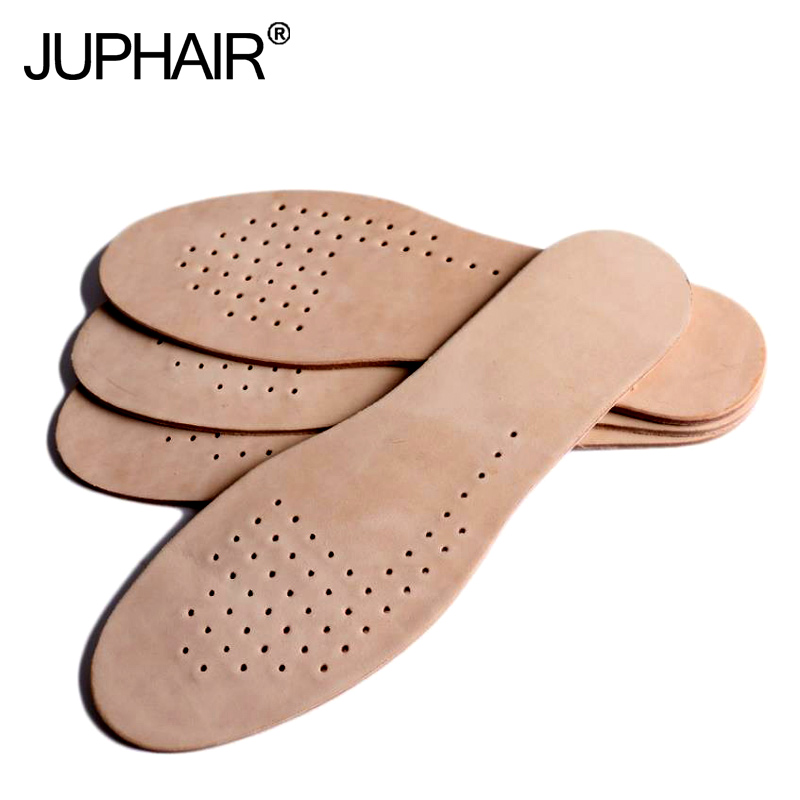 3 Pairs Real Leather Insole Sweat