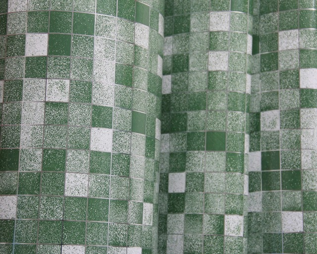 Meter roll wit vinyl tegel mozaïek behang pvc zelfklevende
