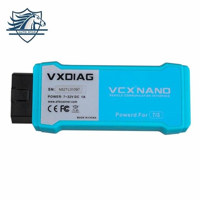 [Подлинный] VXDIAG VCX NANO для TOYOTA TIS Techstream V10.30.029 Совместимый с SAE J2534 для toyota it3 Бесплатная Доставка