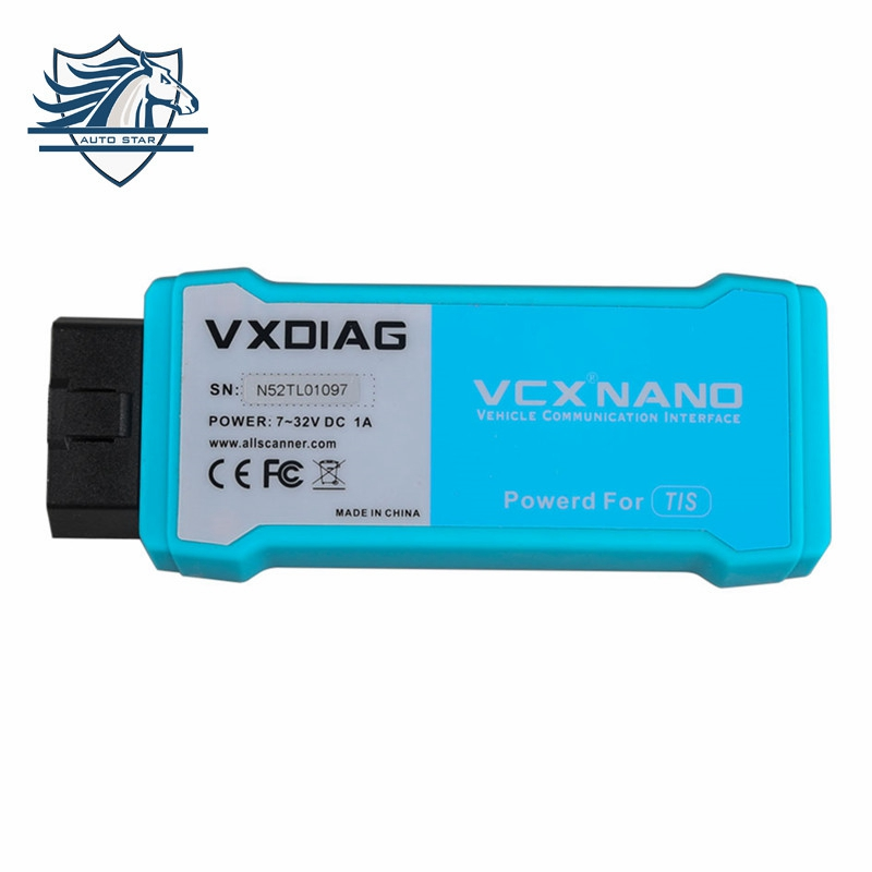 [Genuine] VXDIAG VCX NANO for TOYOTA TIS Techstream V10.30.029 Compatible with SAE J2534 for toyota it3 Free Shipping