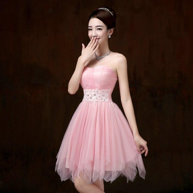 violet strapless bridesmaid dresses short dress for wedding guests ...