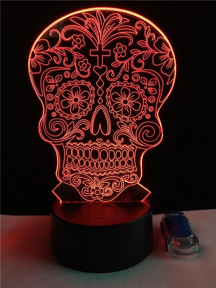 Luzes da Noite noite de ossos cruzados bebê Potência : 0-5 w