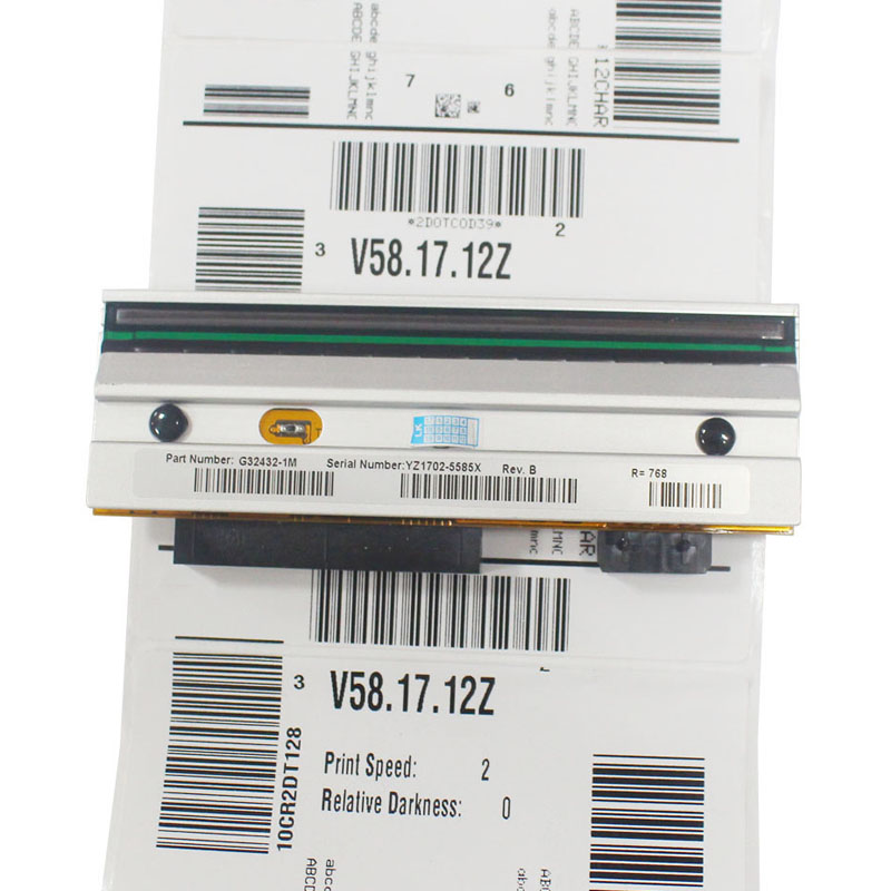 SEEBZ New Print Head For Zebra 105SL 203dpi Thermal Printhead Barcode Label Print head Compatible Printer Spare Parts G32432M p1058930 010 new compatible printhead print head for zebra zt400 zt410 203dpi barcode printer head dhl free shipping