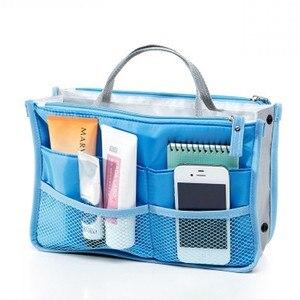 Image 2 - 多機能収納パッケージ女性化粧品袋ビッグサイズの化粧ポーチ良質旅行ハンドバッグトイレタリーバッグオーガナイザー