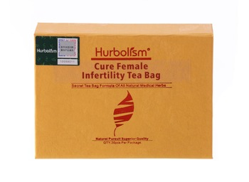 Hurbolism Cure Female Infertility Tea Bag Natural Herbal formula for Help Ovulation and Enhance Ovary Functions, Herbal Tea