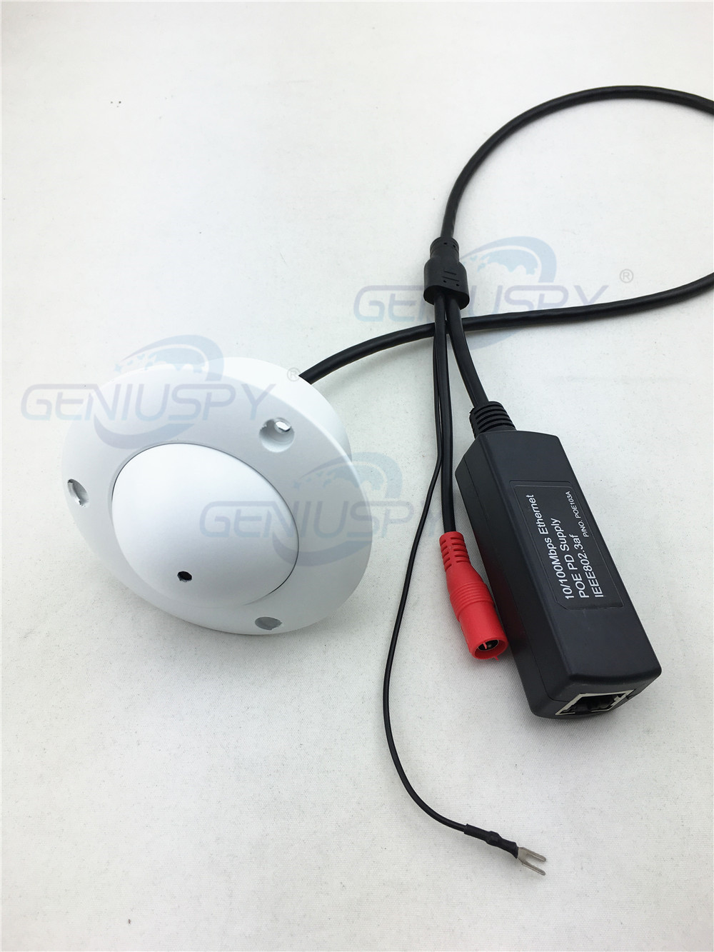 H.264 P2P Onvif UFO Flying Saucer White Colour 720P HD POE Mini Pinhole IP Camera Ceiling Mount For Elevator Lift Use