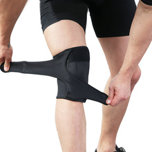 1pcs Black Knee Pads Hiking Running Basketball Support Breathable Sports MC889