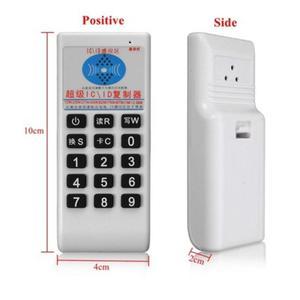 Image 4 - Palmare RFID 125Khz 13.56MHZ Copier Duplicator Cloner RFID NFC Lettore di IC Card con Scrittore Carte Vestito