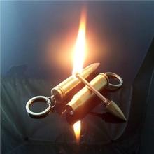 Metal Emergency Fire Starter Flint Match Lighter Metal waterproof Camping Hiking Instant Survival Tool Safety Durable