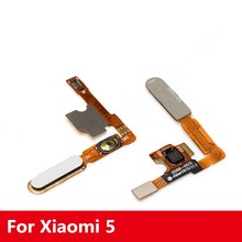 New For Xiaomi 5 M5 Module Fingerprint Identification Touch ID Sensor Home Button OK Key Fingerprint Sensor Button